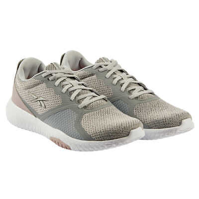 Reebok Women's Flexagon Force Shoe Athletic Running Sneaker, Grey/Pink NEW