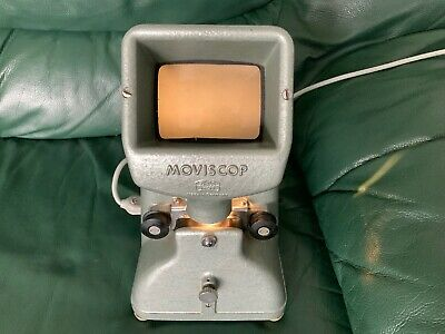 Zeiss Ikon 8mm MoviScop Film Viewer and Editor