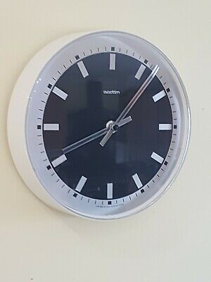 Vintage/Retro 1960s Wall Clock Acctim Movement Made In France German Case Black