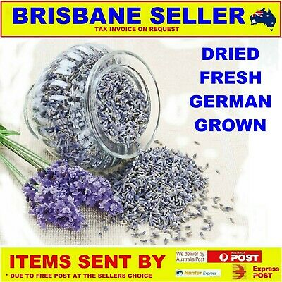 DRIED LAVENDER 10g TO 5kg BAGS TEA CULINARY PREMIUM FOOD GRADE MADE IN GERMANY
