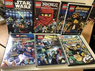 Lego DVD Movie Ninjago  Star Wars Batman Super Heroes City Clutches of powers