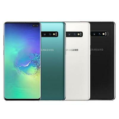 Samsung S10+ Plus 128Gb/512Gb - Black/White/Green/Blue - Sim Free Unlocked