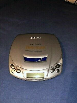 Sony Discman D-192CK CD player, power supply, manual - good condition