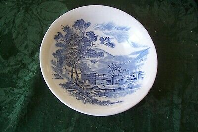 Enoch Wedgewood  Cereal / Soup Bowl COUNTRYSIDE  Blue England