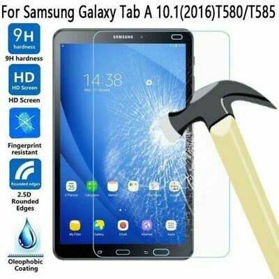 """4 xGenuine Tempered Glass Screen Protector For Samsung Galaxy Tab A6 10.1/"""" T580"""