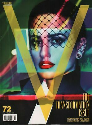 V Magazine - Fall Preview 2011 #72 Penelope Cruz - The Transformation Issue