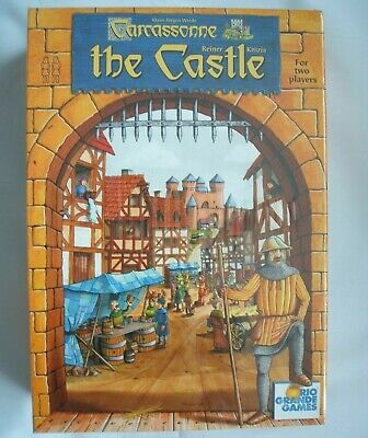 Brand New And Sealed Carcassonne The Castle Board Game From Rio Grande Games