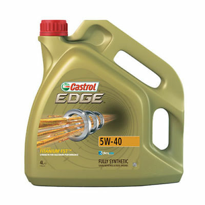 Castrol Edge 5W-40 With Titanium FST Fully Synthetic Engine Oil 4Ltr