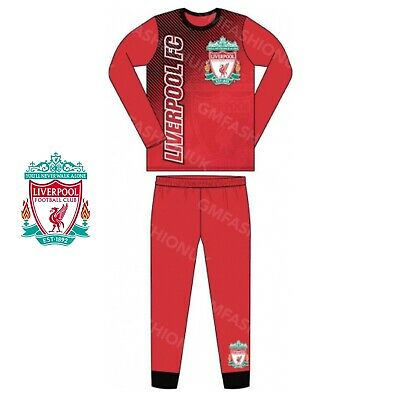 Boys Kids Official Liverpool Football Club Pyjamas Pjs Nightdress Liverbird LFC