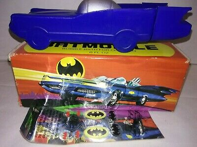Vintage Batman Batmobile Avon in box. Unused ! New Old Stock