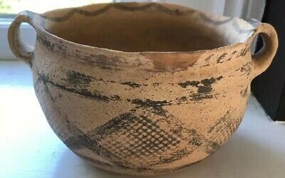 Beautiful Bronze Age Uruk/Susa Culture Terracotta  Serving Bowl Circ 3000BC COA