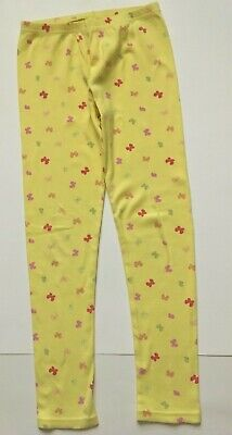 NWOT Gymboree Yellow Background with Multi Color Butterflies Leggings Size 10