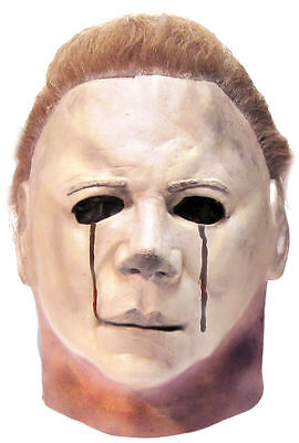 Halloween II Michael Myers Blood Tears Trick or Treat Studios Latex Deluxe Mask