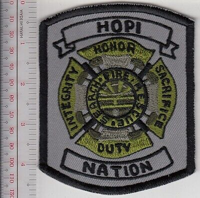 American Indian Tribe FD Arizona Hopi Indian Nation Fire Department Search Fire