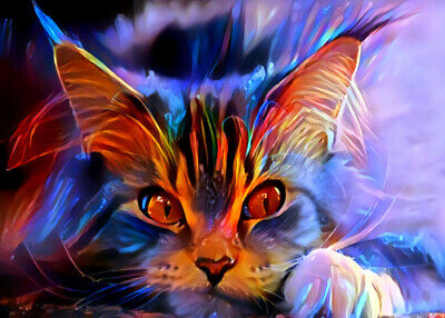 """ACEO Collectible Art Card """"Cat"""""""