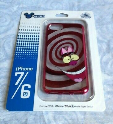 new disney parks alice in wonderland cheshire cat iphone 7/6/6s case