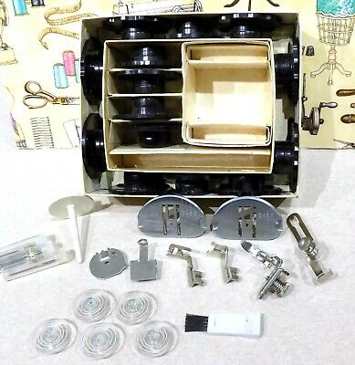 Singer Machine Model 648 Accessories, Touch & Sew Zig-Zag Models-Slant, Free S/H