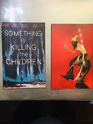 somethin is killing yhe children 1 nm+ jae lee cover and nm dell edera cover