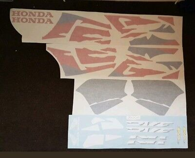 Honda Rvf400 Decal Kit