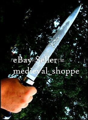 Scottish Dirk Traditional Highland Dagger Ceremonial Knife of Scotland SEE VIDEO