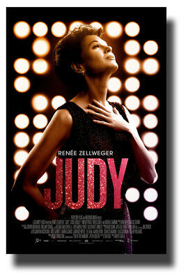 "Judy Poster 2019 Movie 11""x17"" Renee Zellweger Garland SameDay Ship from USA"
