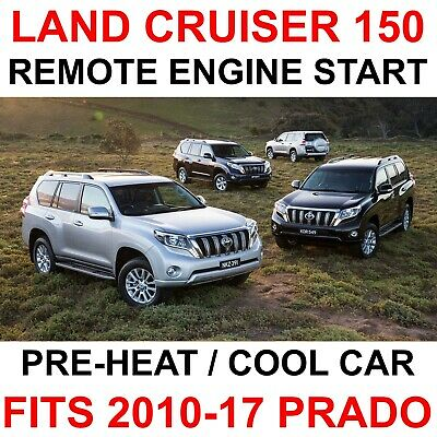 Remote Engine Starter Kit Toyota Land Cruiser Prado 2013-2017 VX GX FJ150 LC150