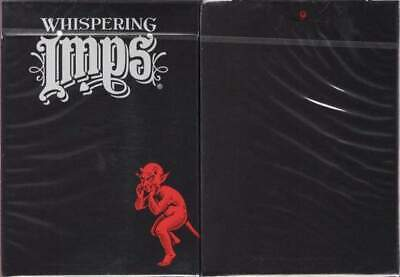 Whispering Imps Workers Edition Deck Bicycle Playing Cards Uspcc Magic Tricks