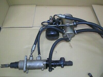 BMW E24 E28 E32 brake servo unit & pressure regulator/accumulator