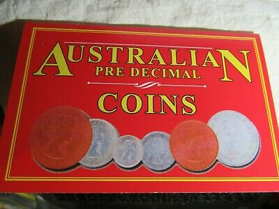 PRE DECIMAL COINS one of each   6 COINS    50% SILVER  & COPPER, FREE POST