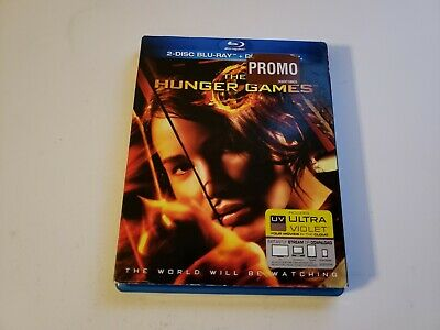 The Hunger Games (2-Disc Bluray, 2012) [BUY 2 GET 1]