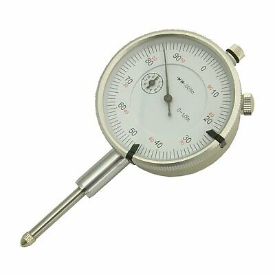 "1"" Dial Indicator Imperial Plunger Gauge Measure DTI Lug-Back Gage Machine-DRO"