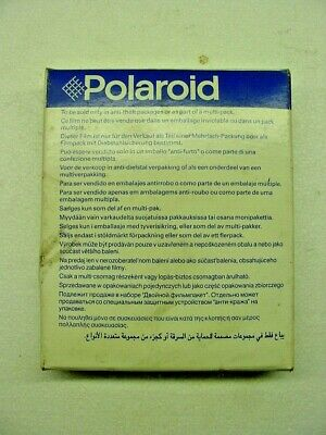 Polaroid 600 (1) Box of EXPIRED 2002 Film (10) Photos NEW instant