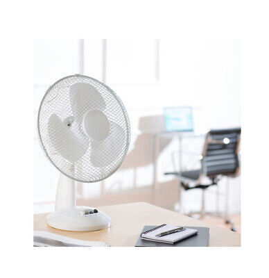 30.5cm Silencieux Bureau Oscillant Ventilateur Portable Table Air Cooling 3 ABS
