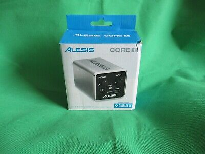=-= Alesis Core 1 Inline 2-Channel USB Audio Interface w/ Cubase LE Software =-=