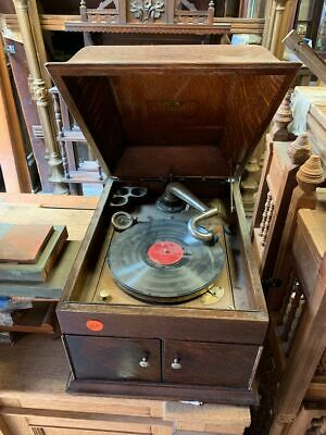 Early 1900's Victor Talking Machine Record Player