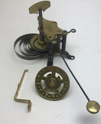 Replacement Alarm And Dial For Antique Kitchen Mantel Clock Made In India NOS