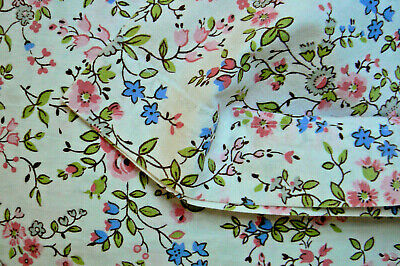 ancien taie traversin tissu shabby  / vintage fabric