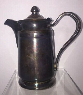 Vintage Reed & Barton Silver Soldered Pitcher 2800 B2
