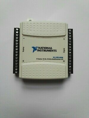 National Instruments NI USB-6008 Carte d'acquisition + USB cable
