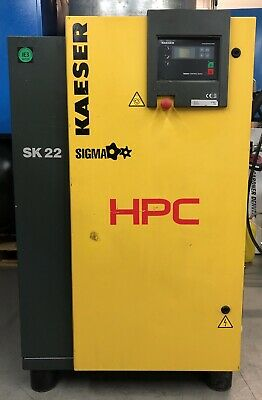 HPC / Kaeser SK22 Rotary Screw Compressor, Low Hours! 11.0Kw, 60Cfm Great Order!