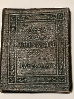 Little Leather Library books As a Man Thinketh by James Allen