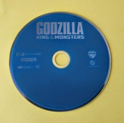Godzilla King Of The Monsters 2019 4K Ultra Hd Disc Only