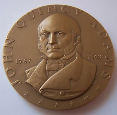 John Quincy Adams Medallic Art Hall of Fame for Great Americans Bronze