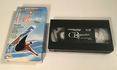 Cool Boarders 4 CB powder - PS1 VHS Tape 1999 Video Game Promo VHS 989 Sudios