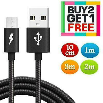 Heavy Duty Micro USB Cable Data Lead Fast Charging Phone Charger Extension Cable