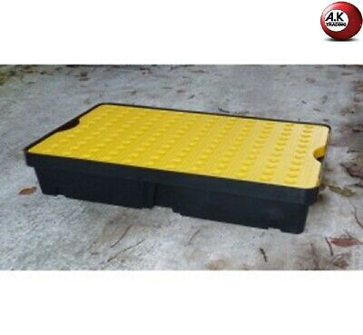 Plateau De Retention 60L Jaune/Noir