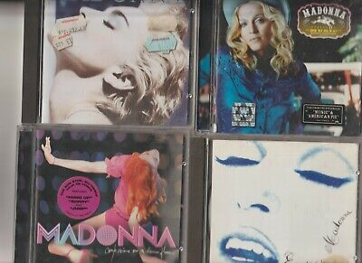 Madonna : Erotica / Ray Of Light / Confessions On A Dance floor / Immaculate