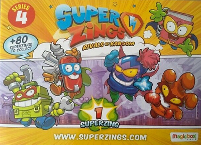 Superzings Series 4 Figures - Pick/Choose Your Figure New from Packaging