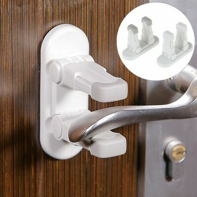 Child Safety Lock Door Handle Lever Lockproof Window Anti-open No Drill Protect