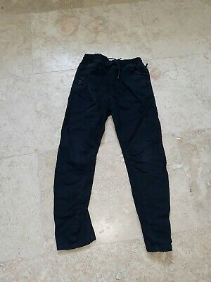 Next Boys Navy Trousers Age 10